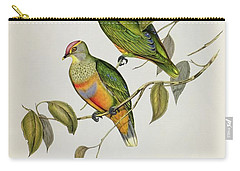 Ptilinopus Ewingii Carry-all Pouch by John Gould