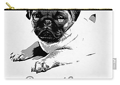 Puppy Love Carry-all Pouch by Edward Fielding