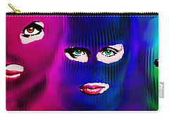 Pussy Riot Carry-all Pouch by Tony Rubino