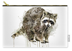 Raccoon Carry-all Pouch by Marian Voicu