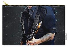 Radiohead - Thom Yorke Carry-all Pouch by Semih Yurdabak