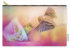 Raiding The Teacup - Songbird Art Carry-all Pouch by Jai Johnson