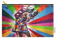 Rainbow Kiss Carry-all Pouch by Az Jackson