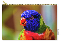 Rainbow Lorikeet Carry-all Pouch by Martin Newman