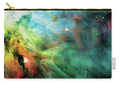 Rainbow Orion Nebula Carry-all Pouch by Jennifer Rondinelli Reilly - Fine Art Photography