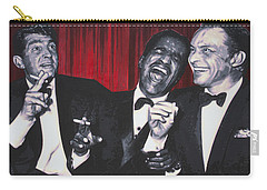 Rat Pack Carry-all Pouch by Luis Ludzska