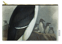 Razorbill Carry-all Pouch by Archibald Thorburn