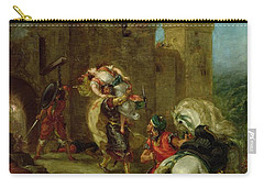 Rebecca Kidnapped By The Templar Carry-all Pouch by Ferdinand Victor Eugene Delacroix