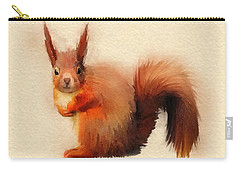 Red Carry-all Pouch by John Edwards