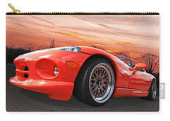 Red Viper Rt10 Carry-all Pouch by Gill Billington