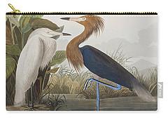 Reddish Egret Carry-all Pouch by John James Audubon