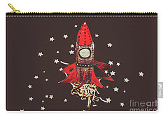 Retro Cosmic Adventure Carry-all Pouch by Jorgo Photography - Wall Art Gallery