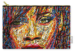 Rihanna Carry-all Pouch by Angie Wright