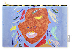 Rihanna Loud Carry-all Pouch by Stormm Bradshaw