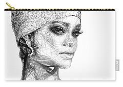 Rihanna Carry-all Pouch by Rafael Salazar