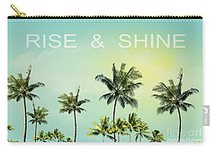 Rise And  Shine Carry-all Pouch by Mark Ashkenazi