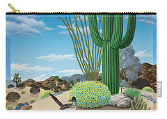 Roadrunner Carry-all Pouch by Snake Jagger