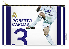 Roberto Carlos Carry-all Pouch by Semih Yurdabak