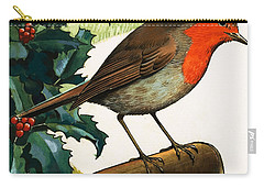 Robin Redbreast Carry-all Pouch by English School