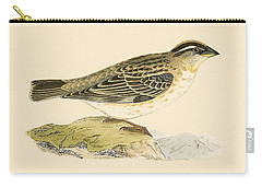 Rock Sparrow Carry-all Pouch by English School