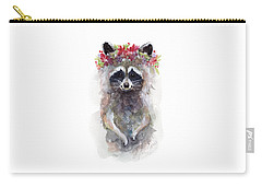 Rocky Raccoon Carry-all Pouch by Stephie Jones