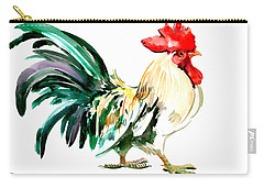 Rooster Carry-all Pouch by Suren Nersisyan
