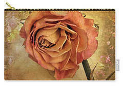 Rose  Carry-all Pouch by Jessica Jenney