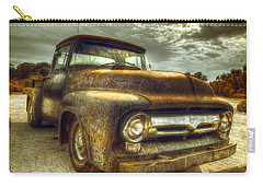 Rusty Truck Carry-all Pouch by Mal Bray