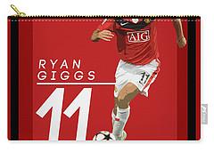 Ryan Giggs Carry-all Pouch by Semih Yurdabak