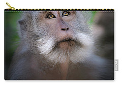 Sacred Monkey Forest Sanctuary Carry-all Pouch by Larry Marshall