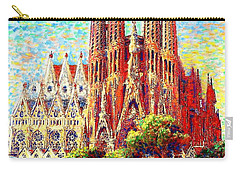 Sagrada Familia Carry-all Pouch by Jane Small