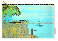 Sail On Carry-all Pouch by Tito Santiago