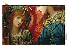 Saint Cecilia Carry-all Pouch by John Melhuish Strukdwic