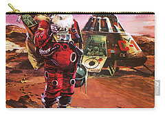 Santa Claus On Mars Carry-all Pouch by English School