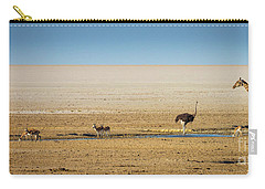 Savanna Life Carry-all Pouch by Inge Johnsson