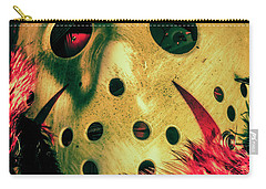 Scene From A Fright Night Slasher Flick Carry-all Pouch by Jorgo Photography - Wall Art Gallery