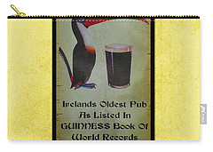 Seans Bar Guinness Pub Sign Athlone Ireland Carry-all Pouch by Teresa Mucha