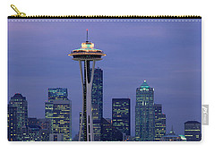 Seattle, Washington Skyline Carry-all Pouch by Panoramic Images