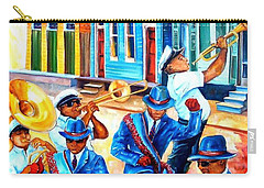 Second Line In Treme Carry-all Pouch by Diane Millsap