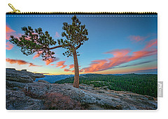 Sentinel Dawn Carry-all Pouch by Rick Berk