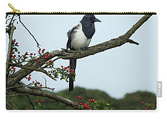 September Magpie Carry-all Pouch by Philip Openshaw