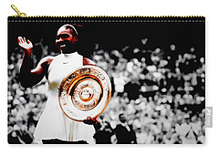 Serena 2016 Wimbledon Victory Carry-all Pouch by Brian Reaves