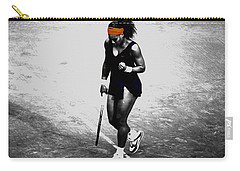 Serena Williams Match Point 3a Carry-all Pouch by Brian Reaves