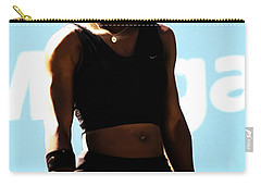 Serena Williams Match Point IIi Carry-all Pouch by Brian Reaves