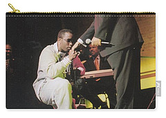 Sharpton 50th Birthday Carry-all Pouch by Azim Thomas