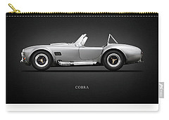 Shelby Cobra 427 Sc 1965 Carry-all Pouch by Mark Rogan