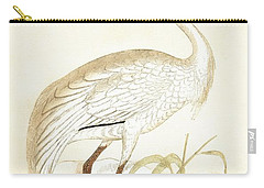 Siberian Crane Carry-all Pouch by English School