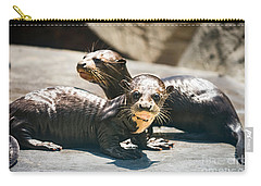 Siblings Carry-all Pouch by Jamie Pham