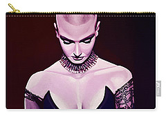 Sinead O'connor Carry-all Pouch by Paul Meijering