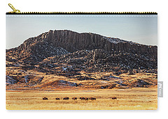 Snake Butte Carry-all Pouch by Todd Klassy